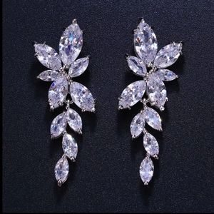 5 Star Rated Copper AAAAA CZ Sparkly Earrings